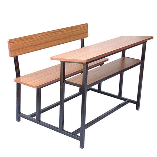 school wooden bench and table in chennai