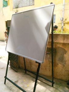 'A' Type stand with white board