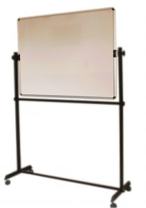 white board with revolving stand