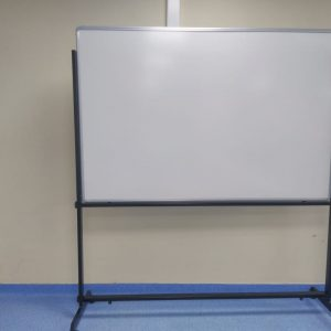 white board with wheel stand